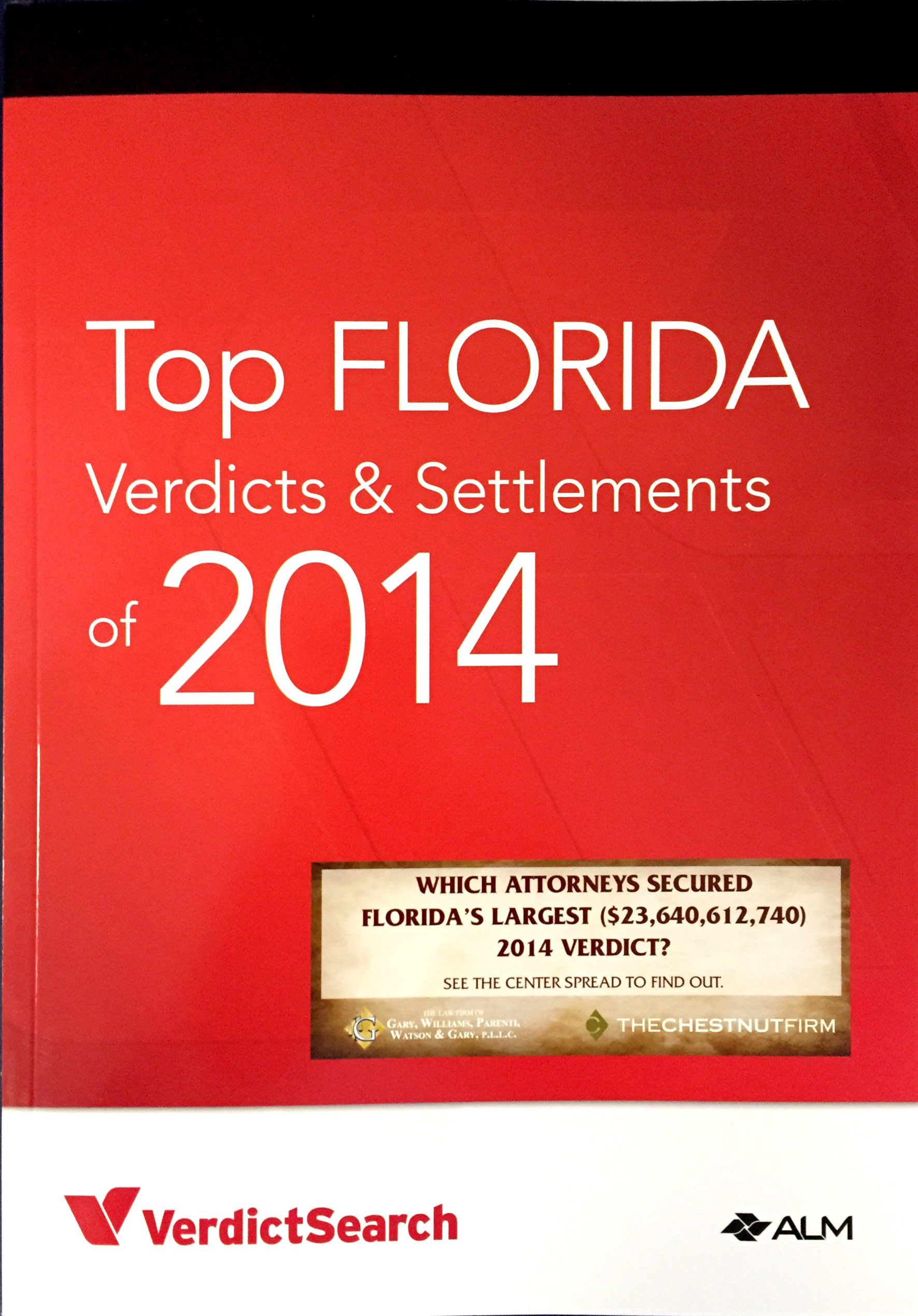 The Altman Law Firm has 2 of the Top Florida Verdicts in